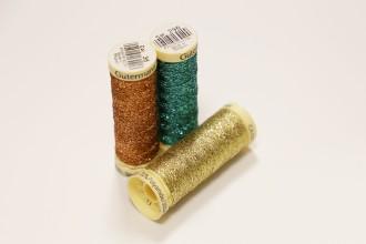 Gutermann Metallic Effect Thread - 50m