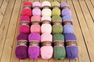 Attic24 - Sweet Pea CAL (Stylecraft Yarn Pack)