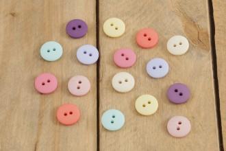 Attic24 - Button Pack - Pastels (16 Buttons)