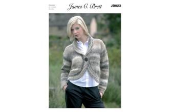 James C Brett 023 Bolero in Marble Chunky (leaflet)