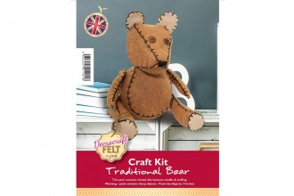 Decracraft Felt Craft Kit - Large Teddy