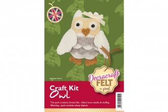 Decracraft Felt Craft Kit - Owl