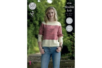 King Cole 4746 Sweaters in Merino Blend DK (leaflet)