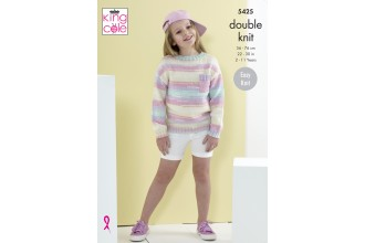 King Cole 5425 Sweaters in Beaches DK (leaflet)