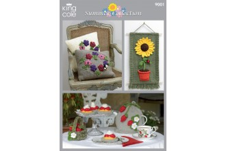 King Cole 9001 Summer Collection in DK (downloadable PDF)