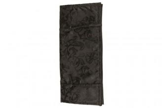 KnitPro Soft Fabric Case for 30cm Single Point Needles - Black Jacquard