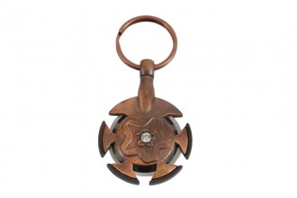 KnitPro Yarn Cutter Pendant (Antique Brass)