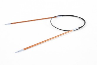 KnitPro Fixed Circular Knitting Needles - Zing - 60cm