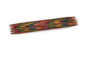 KnitPro Double Point Knitting Needles - Symfonie Wood - 10cm