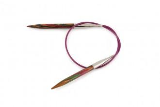 KnitPro Fixed Circular Knitting Needles - Symfonie Wood - 40cm