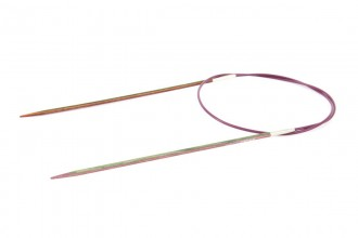 KnitPro Fixed Circular Knitting Needles - Symfonie Wood - 60cm (2.50mm)
