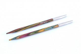 KnitPro Interchangeable Circular Knitting Needle Shanks - Symfonie Wood *Short*