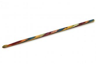 KnitPro Single End Crochet Hook - Symfonie Wood (4.00mm)