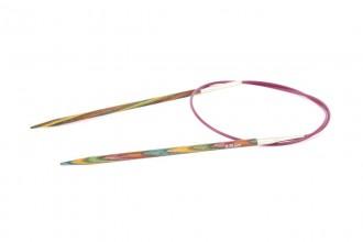 KnitPro Fixed Circular Knitting Needles - Symfonie Wood - 60cm (3.75mm)