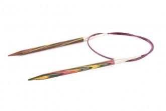 KnitPro Fixed Circular Knitting Needles - Symfonie Wood - 60cm (5.50mm)