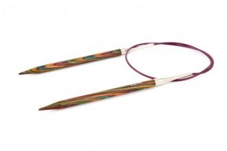 KnitPro Fixed Circular Knitting Needles - Symfonie Wood - 60cm (6.00mm)