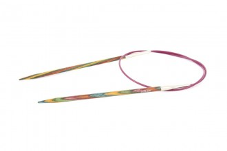 KnitPro Fixed Circular Knitting Needles - Symfonie Wood - 80cm (3.75mm)
