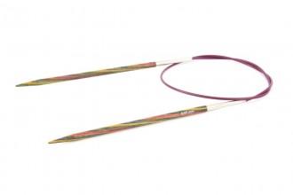 KnitPro Fixed Circular Knitting Needles - Symfonie Wood - 80cm (4.00mm)