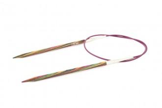KnitPro Fixed Circular Knitting Needles - Symfonie Wood - 80cm (4.50mm)
