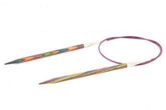 KnitPro Fixed Circular Knitting Needles - Symfonie Wood - 80cm (5.00mm)