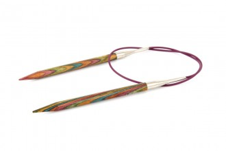 KnitPro Fixed Circular Knitting Needles - Symfonie Wood - 80cm (6.5mm)