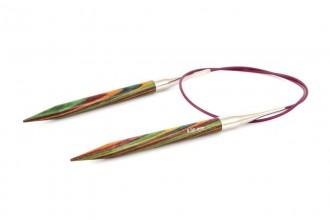 KnitPro Fixed Circular Knitting Needles - Symfonie Wood - 80cm (8.00mm)