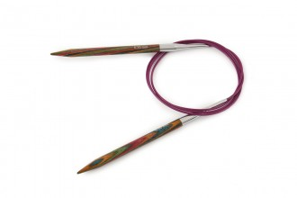 KnitPro Fixed Circular Knitting Needles - Symfonie Wood - 100cm