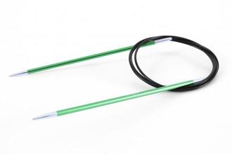 KnitPro Fixed Circular Knitting Needles - Zing - 120cm