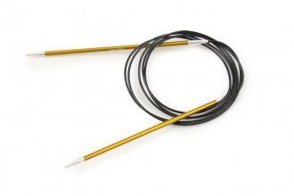 KnitPro Fixed Circular Knitting Needles - Zing - 150cm (3.50mm)