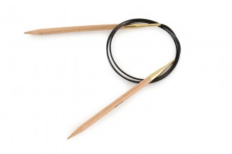 KnitPro Fixed Circular Knitting Needles - Birch - 100cm (6mm)