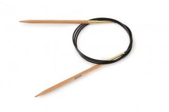 KnitPro Fixed Circular Knitting Needles - Birch - 100cm (4.5mm)