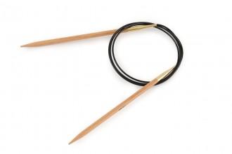 KnitPro Fixed Circular Knitting Needles - Birch - 100cm (5mm)