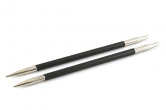 KnitPro Interchangeable Circular Knitting Needle Shanks - Karbonz