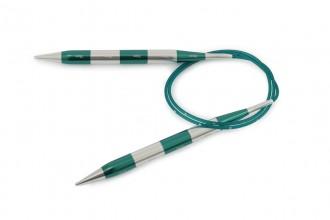KnitPro Fixed Circular Knitting Needles - Smart Stix - 80cm (10mm)