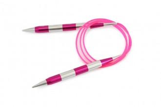 KnitPro Fixed Circular Knitting Needles - Smart Stix - 100cm (10mm)