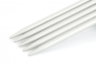 KnitPro Basix Double Point Knitting Needles - Aluminium - 15cm (3.75mm)