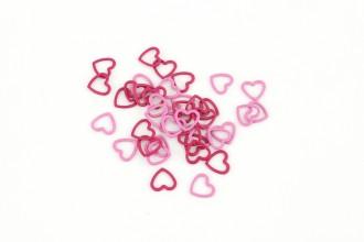 KnitPro Amour Metal Stitch Markers (Set of 40)