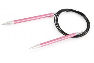 KnitPro Fixed Circular Knitting Needles - Zing - 150cm (6.50mm)