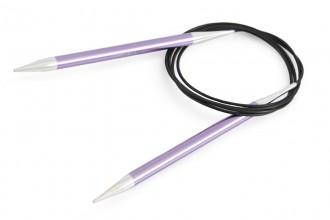 KnitPro Fixed Circular Knitting Needles - Zing - 150cm (7.00mm)