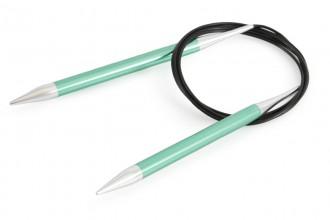 KnitPro Fixed Circular Knitting Needles - Zing - 150cm (8.00mm)