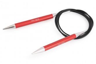 KnitPro Fixed Circular Knitting Needles - Zing - 150cm (9.00mm)