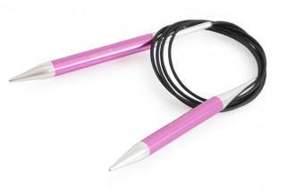 KnitPro Fixed Circular Knitting Needles - Zing - 150cm (10.00mm)