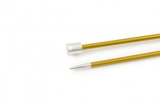 KnitPro Single Point Knitting Needles - Zing - 25cm (3.5mm)
