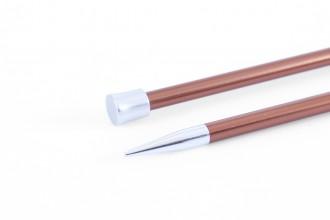 KnitPro Single Point Knitting Needles - Zing - 25cm (5.50mm)