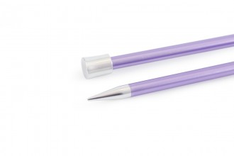KnitPro Single Point Knitting Needles - Zing - 25cm (7.00mm)