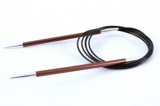 KnitPro Fixed Circular Knitting Needles - Zing - 150cm (5.50mm)