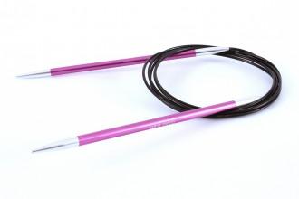 KnitPro Fixed Circular Knitting Needles - Zing - 150cm (5.00mm)