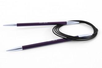 KnitPro Fixed Circular Knitting Needles - Zing - 120cm (6.00mm)