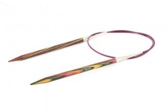 KnitPro Fixed Circular Knitting Needles - Symfonie Wood - 80cm