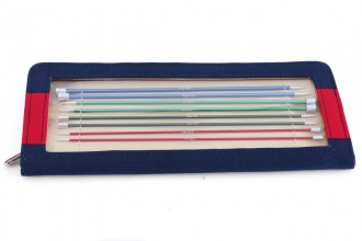 KnitPro Single Point Knitting Needles - Zing - 25cm Set of 8